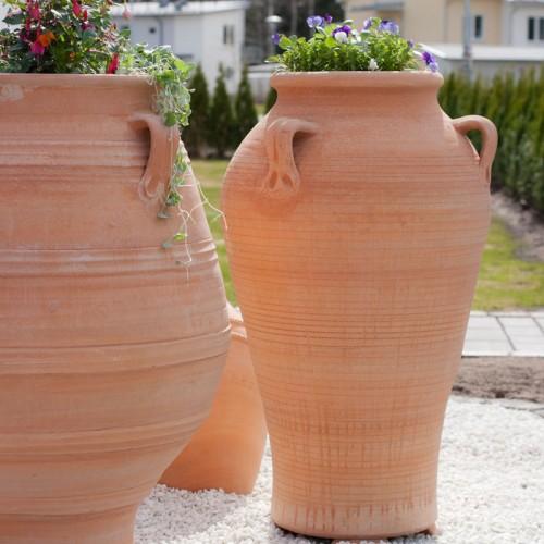 Urna Pithos 100 x 65 cm. Ståtlig med eller utan blomster.