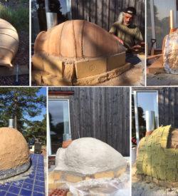 Bygga utomhusugn av urna, i detta fall Rito 90x65 cm
