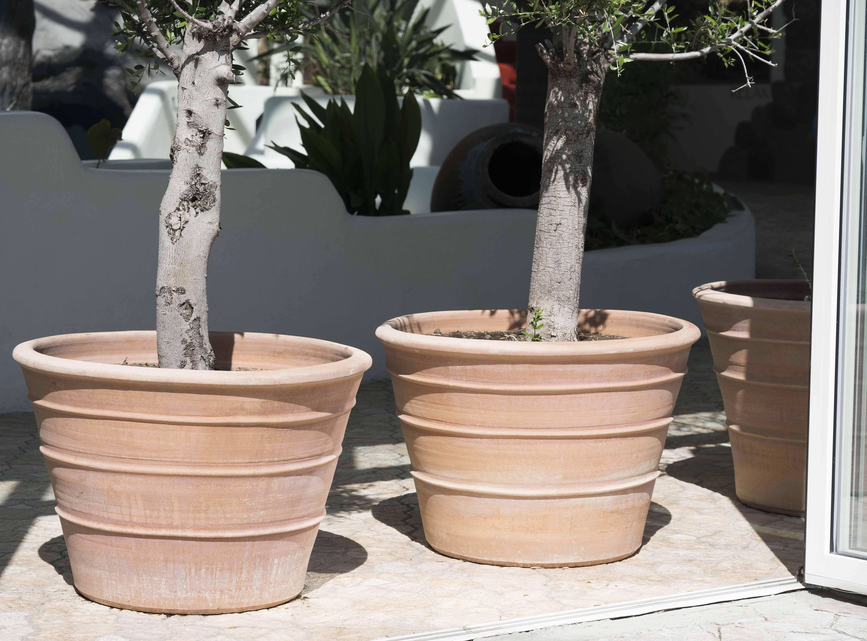 Kvalitetskrukor från Medelhavskeramik, terrakottakrukor